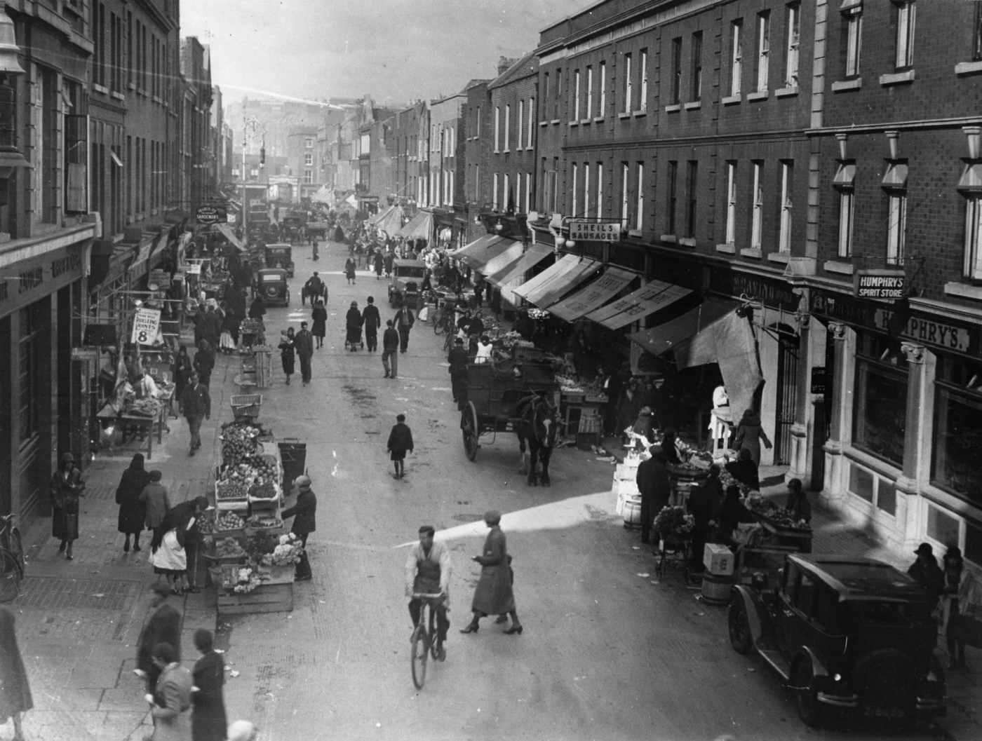 MOORE STREET, DUBLIN, C. 1930