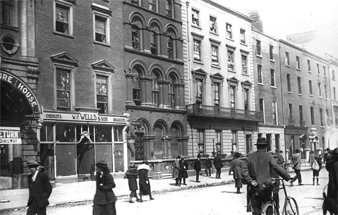 Upper Sackville Street, Dublin, c. 1920