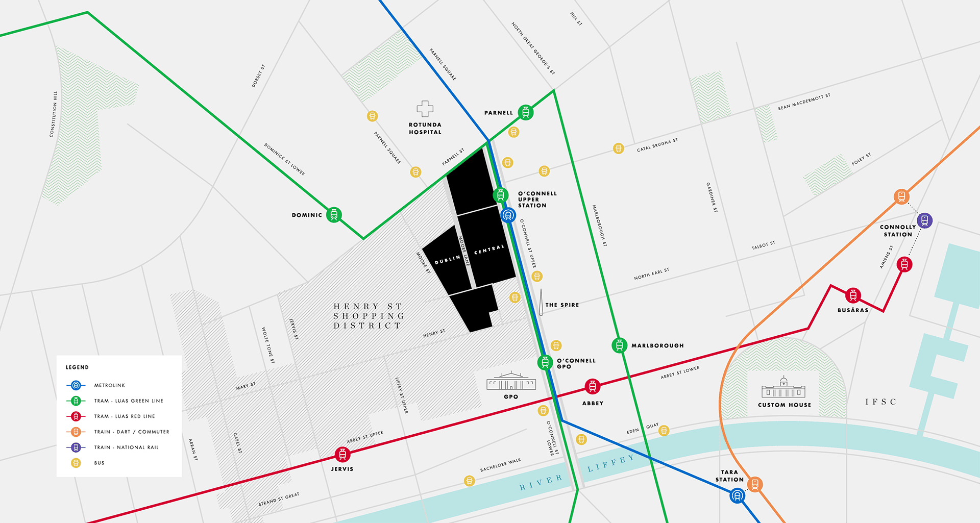Dublin Central Location
